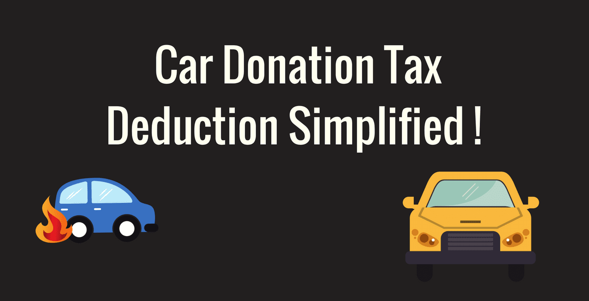 Car Donation Tax Rebate